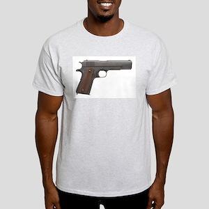 US 1911A1 Colt 45 Pistol Light T-Shirt