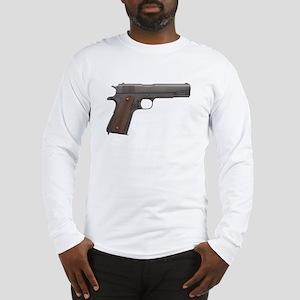 US 1911A1 Colt 45 Pistol Long Sleeve T-Shirt