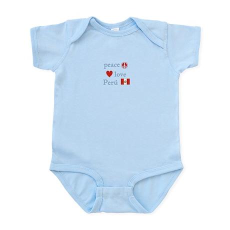 Peace, Love and Peru Infant Bodysuit