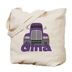 Trucker Gina Tote Bag