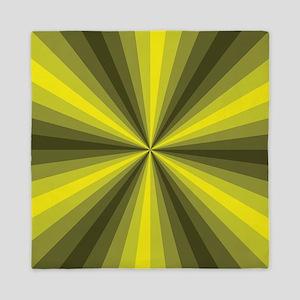 Yellow Illusion Queen Duvet