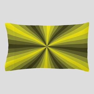 Yellow Illusion Pillow Case