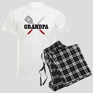 Grandpa BBQ Grilling Men's Light Pajamas
