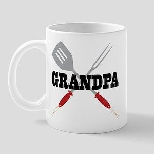 Grandpa BBQ Grilling Mug