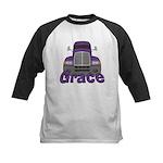 Trucker Grace Kids Baseball Jersey