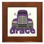 Trucker Grace Framed Tile
