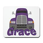 Trucker Grace Mousepad