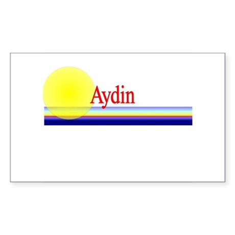 Aydin Rectangle Sticker