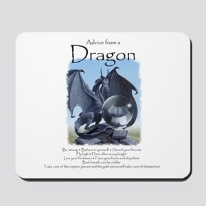 Advice from a Dragon Mousepad