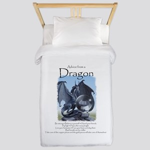 Advice from a Dragon Twin Duvet