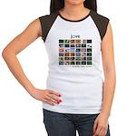 JoVE Articles Women's Cap Sleeve T-Shirt