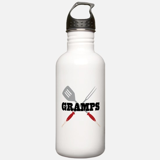 Gramps BBQ Grilling Water Bottle