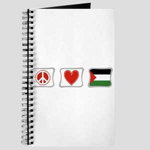 Peace, Love and Palestine Journal