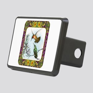 Rufous Hummingbirds Rectangular Hitch Cover