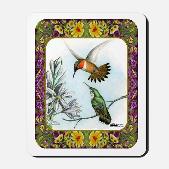 Rufous Hummingbirds Mousepad