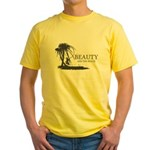 Beauty and the Beach Yellow T-Shirt
