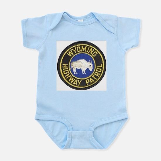 Wyoming Highway Patrol Infant Creeper