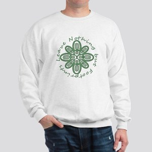 Leave Nothing Boot Green Sweatshirt
