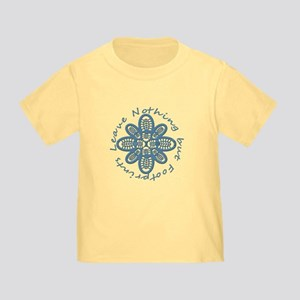 Leave Nothing Boot Print Blue Toddler T-Shirt