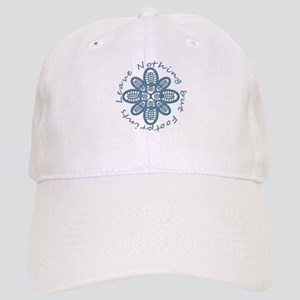 Leave Nothing Boot Print Blue Cap