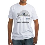 The first scientific video journal Fitted T-Shirt