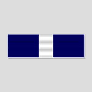 Navy Cross Car Magnet 10 x 3