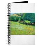 Giverny Poppies Journal
