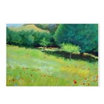 Giverny Poppies Postcards (Package of 8)