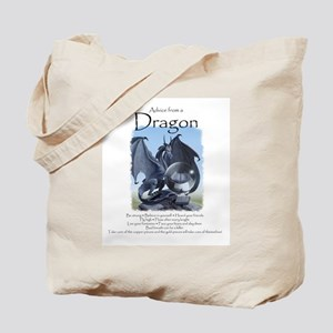 Advice from a Dragon Tote Bag