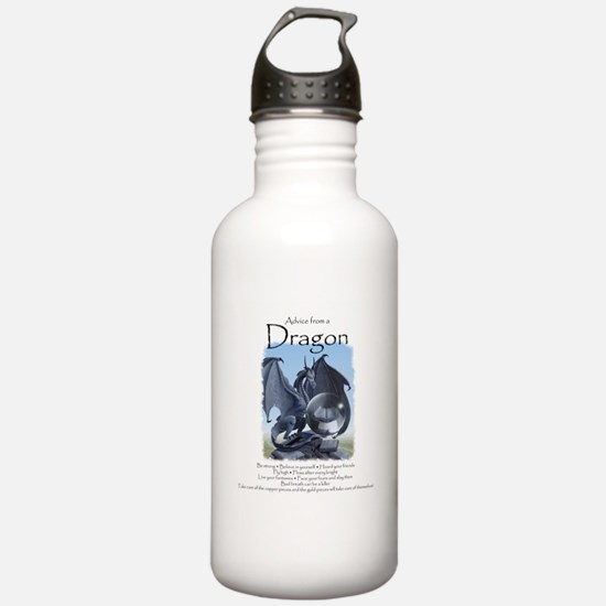 Advice from a Dragon Water Bottle