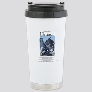 Advice from a Dragon Stainless Steel Travel Mug