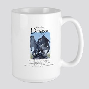 Advice from a Dragon Large Mug