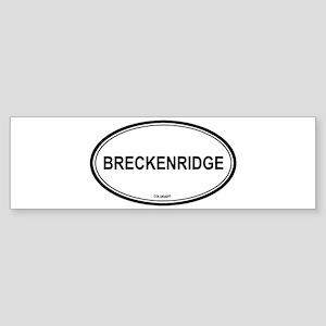 Breckenridge (Colorado) Bumper Sticker