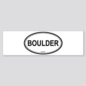 Boulder (Colorado) Bumper Sticker