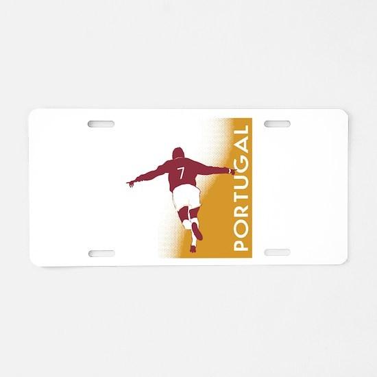 POR3.png Aluminum License Plate