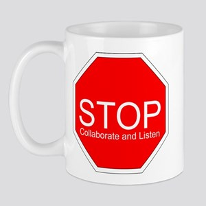 Stop, Collaborate and Listen Mug