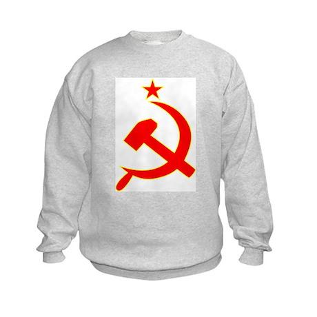 Hammer and Sickle Kids Sweatshirt