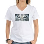 The Fallen Arises Women's V-Neck T-Shirt