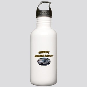 Tehama County Sheriff Car Stainless Water Bottle 1