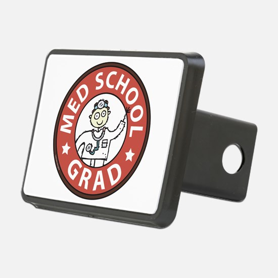 Med School Grad (Male) Hitch Cover