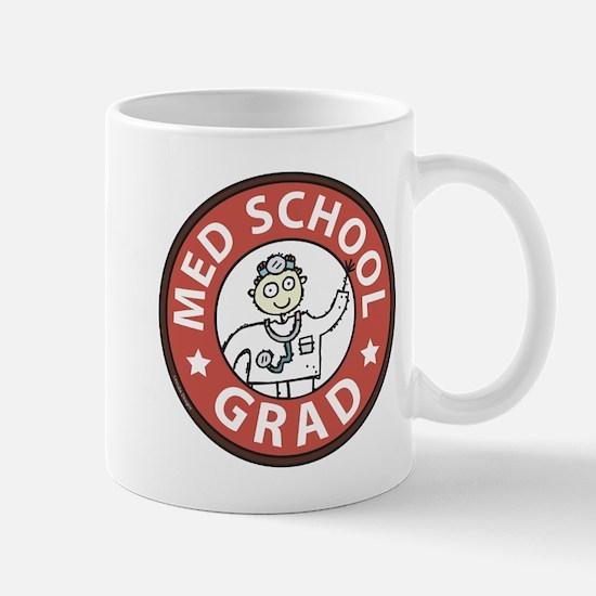 Med School Grad (Male) Mug