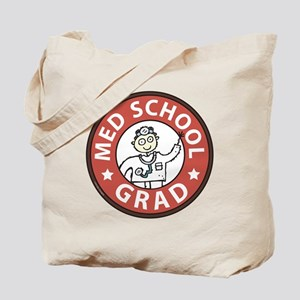 Med School Grad (Male) Tote Bag
