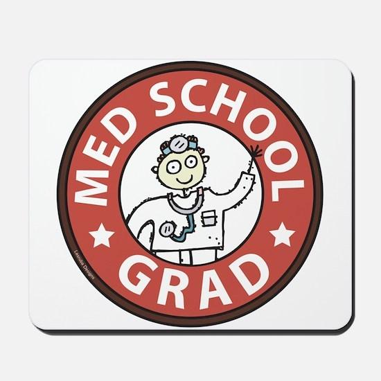Med School Grad (Male) Mousepad