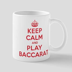 Keep Calm Play Baccarat Mug