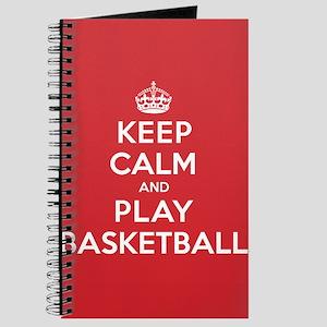 Keep Calm Play Basketball Journal
