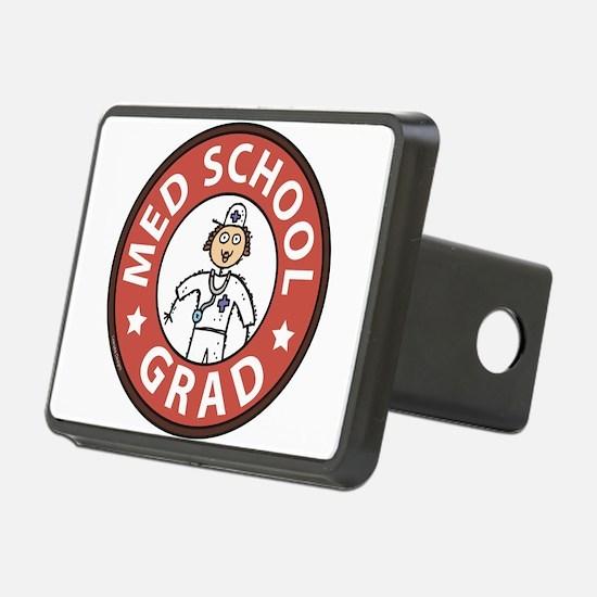 Med School Grad (Female) Hitch Cover