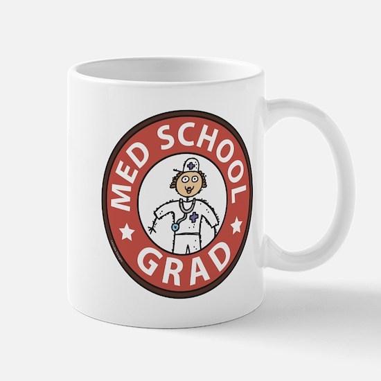 Med School Grad (Female) Mug