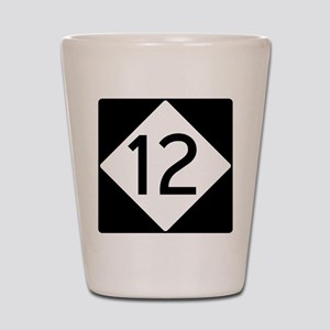Route 12 Shot Glass