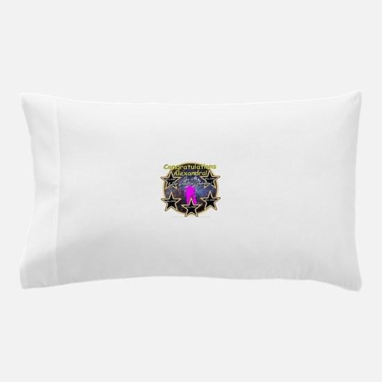 Grad Girls Alexandra: 0002 Pillow Case