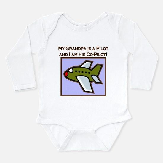co-pilot grandpa plane Body Suit